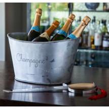 Orrefors Jernverk Champagnesabel