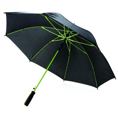 Farvet fiberglass paraply 23'