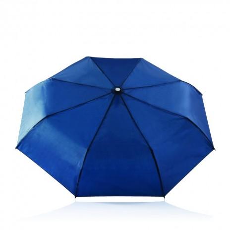 Deluxe 2-i-1 paraply med automatisk åbning/lukning 21,5'