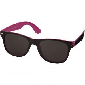Sun Ray solbriller - sort med kontrast farve