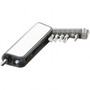 Reno skruetrækker med 7 funktioner og lys