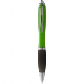 Nash kuglepen med farvet krop og sort greb