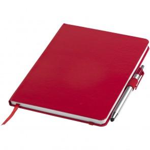 Crown A5 notesbog og stylus kuglepen