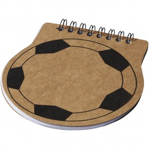 Score fodbold form notesbog