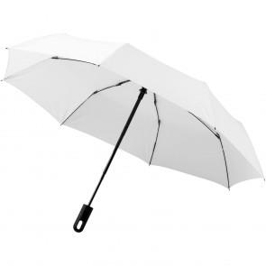 """Traveler 21,5"""" paraply m. 3 sektioner og automatisk åbning og lukning"""