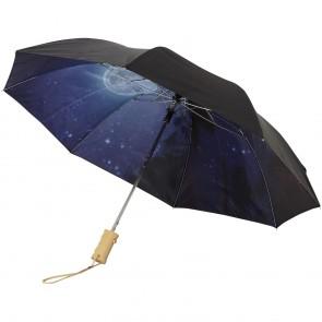 "21"" Clear nattehimmel 2-sektions automatisk paraply"