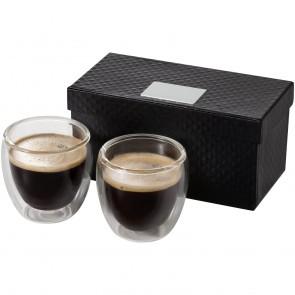 Boda espressosæt med 2 kopper