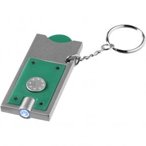 Allegro nøglering med møntholder og lys