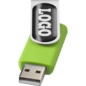 Drejelig USB-nøgle 2GB til doming