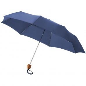 """21,5"""" Lino paraply med 3-sektioner"""