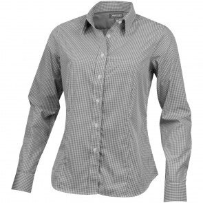 Net langærmet skjorte