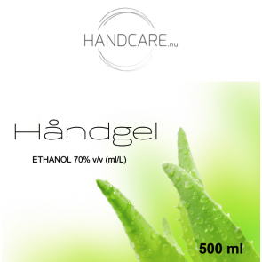 Håndgel  - 500 ml