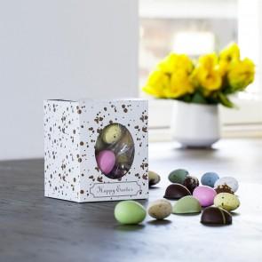 Happy Easter gaveæske S, påskemix flowpack 150-160g