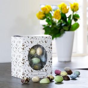 Happy Easter gaveæske M, påskemix flowpack 490-510g