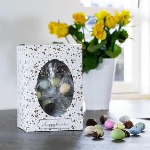 Happy Easter gaveæske L, påskemix flowpack 950-1000g