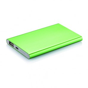 4.000 mAh tynd powerbank