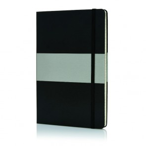 A5 notesbog med hardcover - firkantet