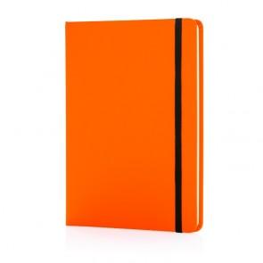 Basic hardcover PU A5 notesbog