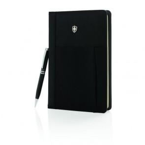 Swiss Peak notesbog og pennesæt