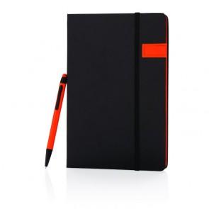 Luksus 8GB USB notesbog med stylus pen