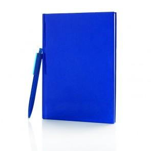 Standard hardcover A5 notesbog med X3 pen